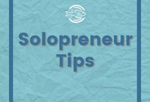 Solopreneur Tips / What you need to know about managing bookkeeping, growing your business, and balancing your time.