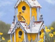 Bird Houses / by Stevie Stacy