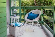 Dec - Entrada, Varanda, Quintal, Terraço, Jardim / Ideias e inspirações para decorar a Entrada, Varanda, Quintal ou Terraço ;)