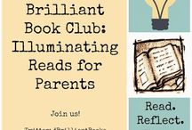 The Brilliant Book Club / The Brilliant Book Club is for parents who want to read the latest books about parenting -- from research-based books on parenting practice to books that reflect on the emotional and personal aspects of childrearing.  The Brilliant Book Club is a collaborative project among five bloggers: Urban Moo Cow, Omnimom, Left Brain Buddha, School of Smock and Mommy, For Real.  Read. Reflect. Share. Shine.