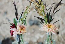 * Flower arrangement *