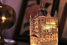 lampy a svícny