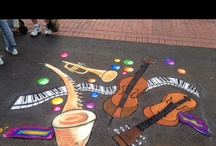 #ChalkArt / This art is there, then it's gone.  Luckily, we have pictures to prove it was there. / by Class Attire