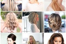 Hairstyles / by Bonnie Moss