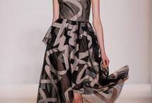Lela Rose  / Designs by Lela Rose. Lady like silhouettes and prints.