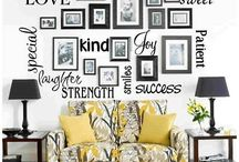 Wall deco ideas / by Lucy Lu