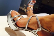 My new shoes / Wedding, grey, shoes , sandals