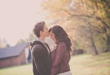 Engagement Pictures / Engagement pictures from different photographers at The Barn in Zionsville.