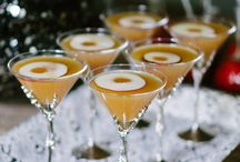Cocktails and delicious drinks