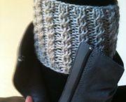 boot cuffs knit TLucy steek