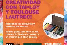 Expresa tu Creatividad / Expresa tu creatividad con Tai loy y Toulose Lautrec.  Entra al siguiente link para participar: http://www.tailoy.net/Aplicaciones/zat/index.php#