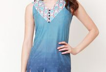 This Summer, Go #Pehraan / A great collection of summer bright kurtis for women. Shop all @ http://bit.ly/1EFeSZB / by Bag It Today