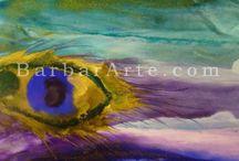 Encáustica - Abstracto / Pintura encáustica - Abstracto Encaustic painting - Abstract