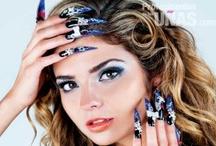 """Mano Alzada / Diseños en uñas (nails) de la técnica mano alzada. Revista """"Profesionales de las Uñas"""""""