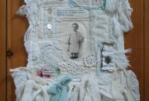 FABRIC COLLAGE / #fabric collage #fabric