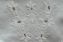 Spetsar och linne  Lace and linen