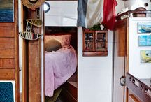 The Dingy Life for Me / Boat interior, boat crafts, sailboat
