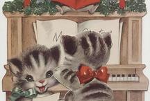 Felines & Christmas