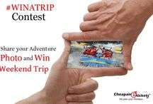 Photo contest / Participate in winatrip Contest  Get a chance to win Weekend Trip . Update your ‪#‎Adventure‬ Photo and Win ‪#‎Weekend‬ Holiday trip for Adventure Destination