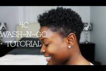 Wash and go hair styles