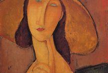 Painting. Amedeo Modigliani