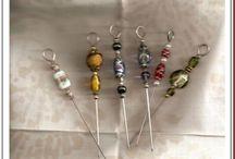 sea glass art and bead art / by Judy Roberts