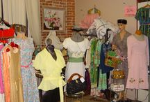 Vintage Clothing in Emporium Antiques / Emporium Antiques in Historic Frederick, MD has several superb vintage clothing vendors. New items added almost daily!!!