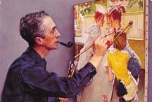 Good Old Days With Norman Rockwell / by Patty Chapman