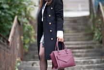 Preppy and military look!