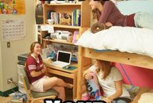 College Roommates / by Bloomsburg University