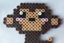 Stitches: perler beads