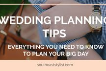 Wedding Planning Tips / Everything that you need to know about wedding planning: from wedding etiquette to registering to booking venders.