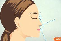 Как сделать так, чтобы ваш нос выглядел меньше