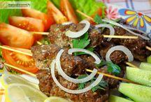 Вторые блюда. Рецепты / Рецепты горячих блюд из рыбы, мяса, овощей, грибов и круп!