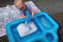 Messy Play - Water, Sand, Playdough