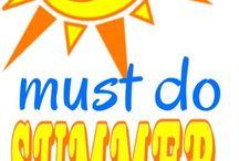 Été - Summer / Activités d'été pour les enfants. Summer activities for kids.