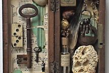 Assemblages shadow boxes
