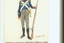 Grand Duchy of Mecklenburg – Strelitz- Confederation of the Rhine Napoleonic Period Regiments