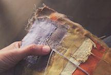 Japanese textile  arts and craft adaptations / Sashiko and boro stitching.