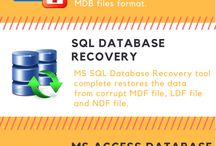 Free database recovery solution