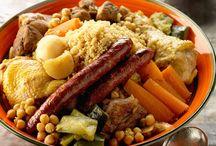 Cuisine de Magreb ( couscous )