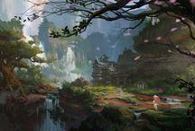 tündéri táj - új / fairy landscape - new