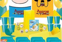 Adventure Time Party / Adventure Time Party Ideas