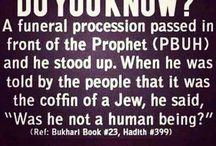 The prophet (PBUH)