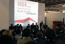 MADEexpo 2013 / La cronaca per immagini del Salone milanese