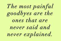 Losing someone