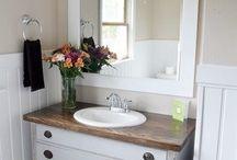 Bathroom ideas / by Rhonda Rutherford