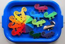 preschool reptile theme