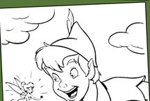 Peter Pan und Tinkerbell Party