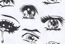 глаза аниме)